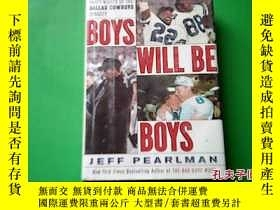 二手書博民逛書店BOYS罕見WILL BE BOYS JEFF PEARLMAN
