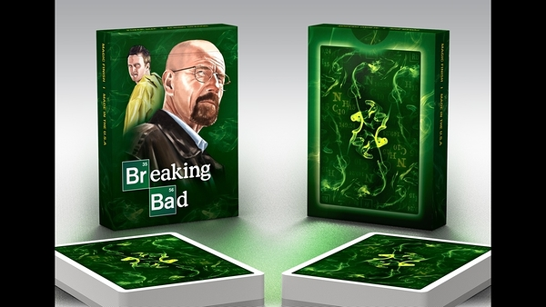 【USPCC撲克】BREAKING BAD GREEN Playing Cards