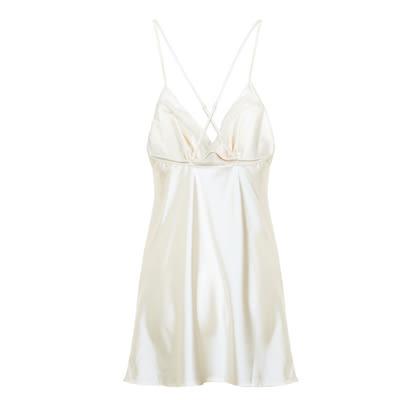 睡衣短款吊带睡裙-ami0311242411