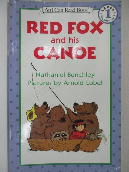 【書寶二手書T2/原文小說_KK1】Red Fox and His Canoe_Benchley, Nathaniel