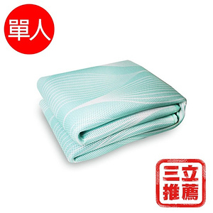 【YAMAKAWA】2019第二代8D plus版四季床墊(單人)綠色