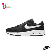 NIKE運動鞋 男鞋 AIR MAX SC 氣墊 慢跑鞋 避震 耐磨 跑步鞋 氣墊運動鞋 Q7140#黑白◆OSOME奧森鞋業