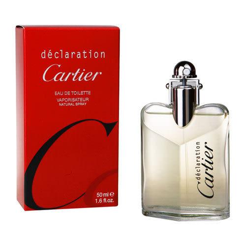 Cartier卡地亞 Declaration宣言男性淡香水50ml【UR8D】