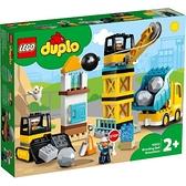 樂高LEGO DUPLO 施工現場組 Wrecking Ball Demolition 10932 TOYeGO 玩具e哥
