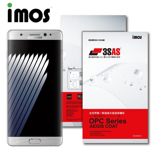 TWMSP★按讚送好禮★iMOS SAMSUNG Galaxy Note 7 3SAS 疏油疏水 螢幕保護貼