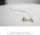 韓國飾品時尚個性OL氣質百搭短款頸鍊別緻LOVE 項鍊