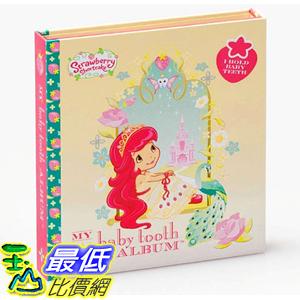 [美國直購] Baby Tooth Album 26185 乳齒保存盒/乳牙保存盒/乳牙盒/乳齒盒 Strawberry Shortcake s Tooth Book