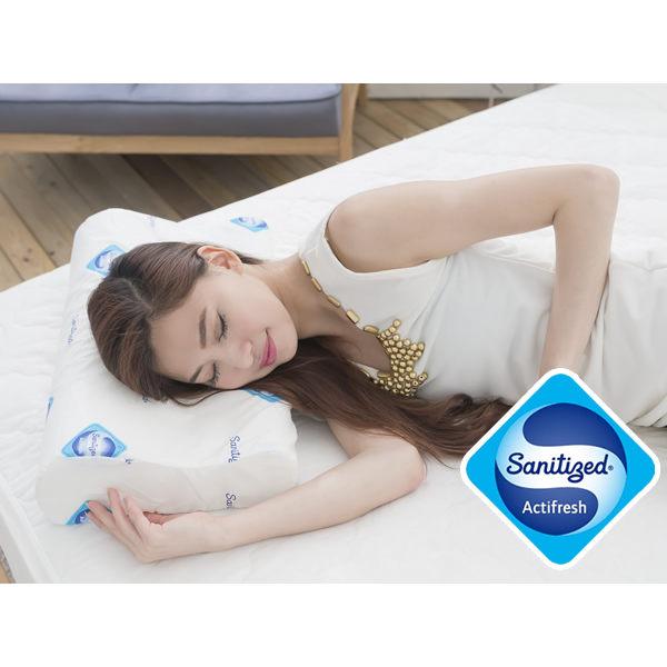 國際抗菌技術sanitized山寧泰-防蹣抗菌釋壓記憶枕