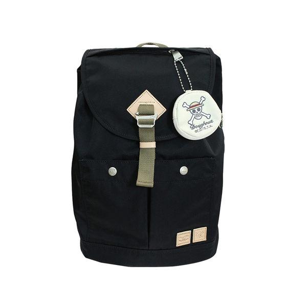 DOUGHNUT x ONE PIECE航海王香吉士餅乾包(紳士黑) 包包+零錢包組