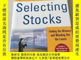 二手書博民逛書店Selecting罕見stocks:選股Y212829