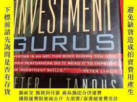 二手書博民逛書店INVESTMENT罕見GURUS  INVESTINGIS AN ART .THIS BOOK SHOWS Y