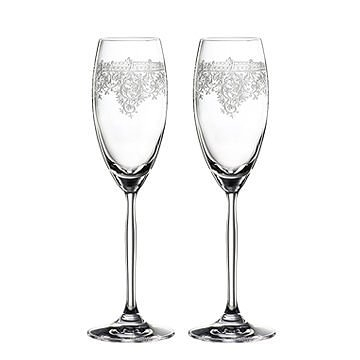 德國 Spiegelau Renaissance Champagne Flute Glasses 香檳酒杯 兩件組