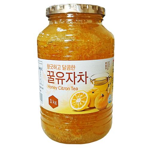 韓國蜂蜜-柚子茶1kg【愛買】