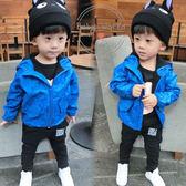 童裝 外套 兒童 亮色系 加絨 連帽外套 BW