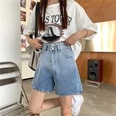 305褲子今年流行的漸變牛仔褲女2021年新款夏季薄款闊腿褲高