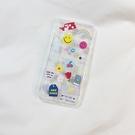 蘋果iphone11 pro手機殼XR硅膠XS max可愛插畫標簽6/7女8plus