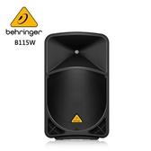 BEHRINGER B115W 主動式喇叭 (15英寸PA揚聲器系統/藍牙)