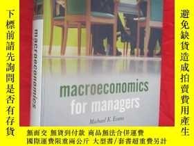 二手書博民逛書店Macroeconomics罕見for Managers (16開,硬精裝) 【詳見圖】Y5460 Micha