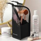 化妝品收納包化妝刷桶收納筒便攜收納袋【小酒窩服飾】