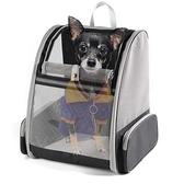 特賣貓背包透氣雙肩貓包外出便攜寵物包貓背包狗包貓咪書包狗狗外出包包輕便 LX