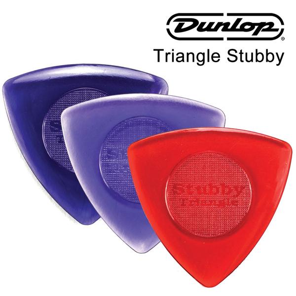 小叮噹的店-PICK 彈片 美國Dunlop 473R Triangle Stubby 透明三角