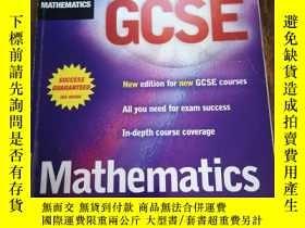 二手書博民逛書店Revise罕見GCSE Mathematics【修改GCSE數