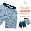 鱷魚印花棉短褲 *2色 [6035] 小童5-17碼 春夏 RQ POLO 童裝 現貨