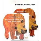 『輕鬆聽出英語力--第1週』『繪本123』--  BROWN BEAR, BROWN BEAR WHAT DO YOU SEE ? /書+CD