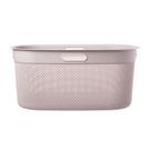 義大利品牌 KIS 洗衣籃 45L 玫瑰色
