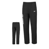 Yonex [18029TR007] 男 運動 長褲 舒適 透氣 吸汗 速乾 防曬 保暖 黑白
