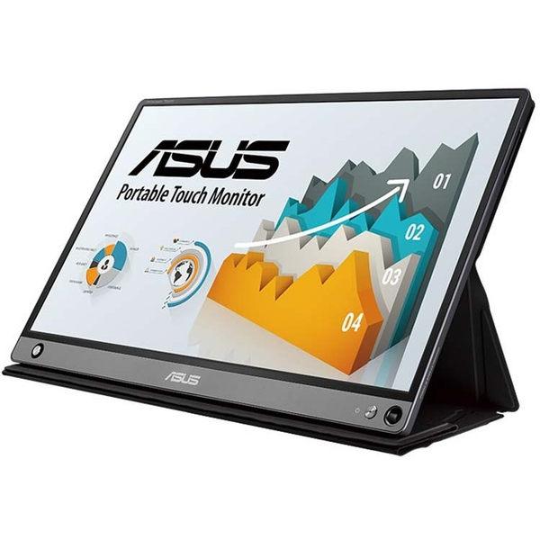 【免運費】ASUS 華碩 MB16AMT 16型 IPS 攜帶型螢幕 廣視角 USB Type-C/A 多點觸控 內建電池 三年保固