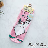 【Tiara Tiara】貓咪制霸日本47都道府縣隱形襪(岡山縣)