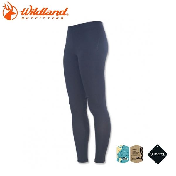 【Wildland 荒野 中性 彈性TACTEL內搭褲《黑》】W169854/壓力褲/9分褲/運動緊身褲/透氣