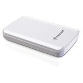 創見 StoreJet 1TB SJ25D3W USB3.0 2.5吋行動硬碟(TS1TSJ25D3W)-白色
