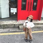 萬聖節狂歡   奶油cream2018新款韓版兒童春秋裝長袖上衣寶寶襯衣女童白色襯衫  mandyc衣間