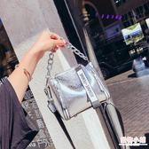 水桶包包女2019新款潮韓版百搭手提包單肩斜挎包女包夏季寬帶小包