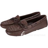 BOTTEGA VENETA BV 綁帶設計編織休閒鞋(咖啡色) 1330525-07