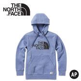 【The North Face 男 快乾休閒帽T《蔭藍》】3VTH/連帽長袖/帽T/保暖長袖/長袖上衣