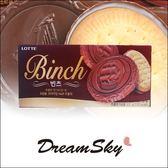 韓國 Lotte 樂天 Binch 帆船巧克力餅 102g  巧克力夾心餅乾 巧克力薄餅 DreamSky