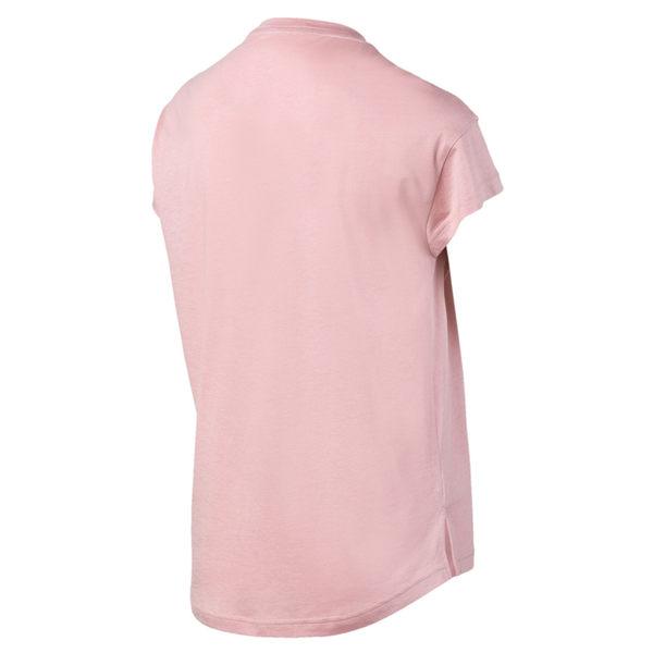 Puma Modern 女 粉色 短袖 上衣 短袖T恤 透氣 排汗 休閒 運動 瑜珈 短袖 58093814