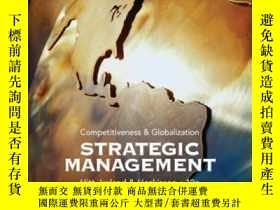 二手書博民逛書店Strategic罕見Management Cases: Competitiveness And Globaliz
