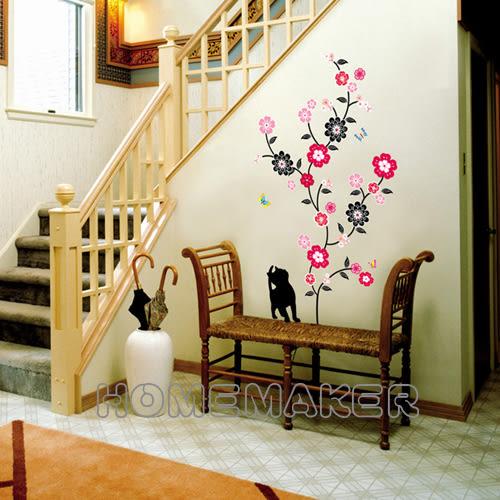 韓國閃石大型創意牆面壁貼_HPS-58057