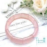【Hera 赫拉】頂級甜美粉晶版環(大)