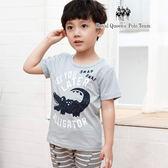 竹節棉 T恤 鱷魚圖案 棉T 短袖 上衣  [85383] 小童 春夏 童裝 RQ POLO 5-15碼 現貨