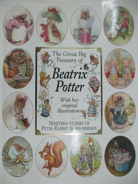 【書寶二手書T1/兒童文學_DTE】The Great Big Treasury of Beatrix Potter