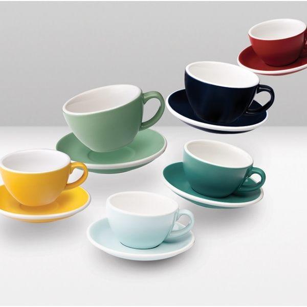 專業拉花指定|6色可選|Pro-Egg拿鐵咖啡杯300ml Loveramics Coffee|全瓷 比賽用杯 美學 好生活