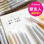 韓版 水性筆 原子筆 文具 筆 彩色筆 辦公用品 彩繪 0.5mm 單支【RS623】