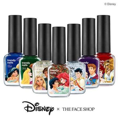 韓國 THE FACE SHOP 迪士尼聯名 王子公主指甲油 7ml 美女與野獸 小美人魚 魔髮奇緣