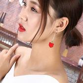 璐菲韓國愛心約氣質耳墜甜美耳飾