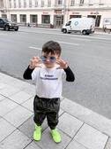 兒童秋季T恤L媽 男童t恤長袖秋裝新款男寶寶假兩件上衣百搭兒童打底衫潮童裝 聖誕節